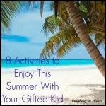 8 summer activities