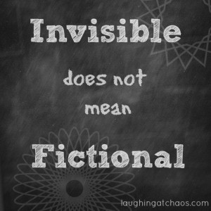 invisible does not mean fictional