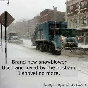 snowblower haiku