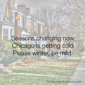 Chicago autumn haiku