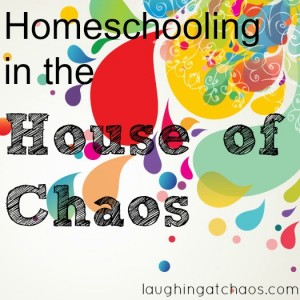 homeschooling in the house of chaos